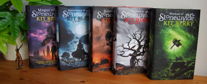 All five books in the Stonewylde series