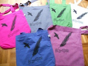 The new Stonewylde Crow and Quill bags