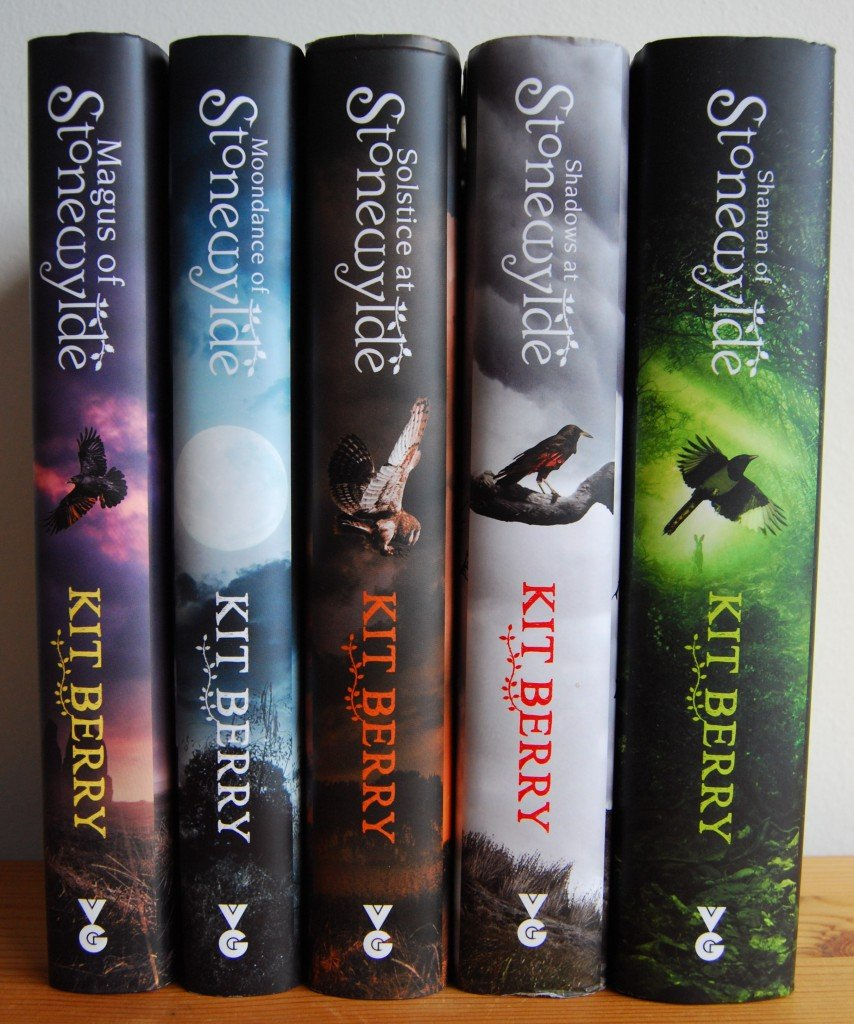 The Stonewylde Series in hardback.