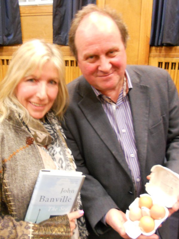 Kit Berry with Jim Naughtie