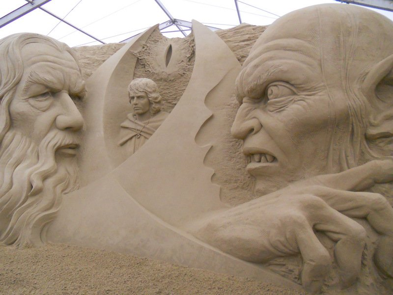 Sandworld Lord of the Rings