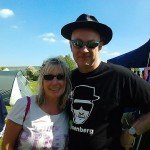 Kit and Mr B at Stonewylde Moongazy Camp 2014