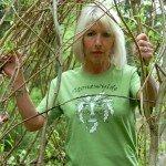 Kit in Green Man T-shirt 2007